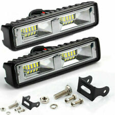 48W 16 LED 12V 24V Work Light FLOOD Light Off Road ATV SUV Boat For Jeep Truck