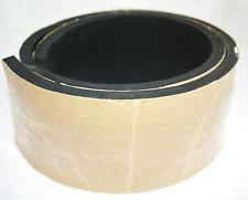 1200x120x10mm Gummiauflage selbstklebend Gummistreifen Gummiplatte Gummimatte