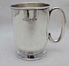 Vintage Solid Sterling Silver Tankard Loop Handle Ideal Babies Gift