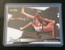 #/288 Jon Bones Jones Sepia Parallel Card 2010 Topps UFC Knockout