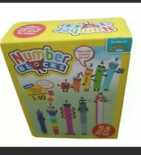 Genuine Number blocks CBeebies Numberblocks ,1-10 gift Autism home schooling