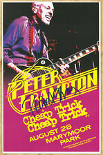 Peter Framton autographed concert poster 2015 Like We Do...