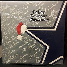 Dallas Cowboys Christmas 2 LP's 1985-86 Xmas Home Sweet Home Mint