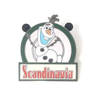Olaf Epcot Food and Wine Festival 2014 Country Food Marquees Disney Pin