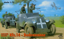 Kfz.14 Bodenwanne German Radio Car (1/72 model kit, RPM 72313)