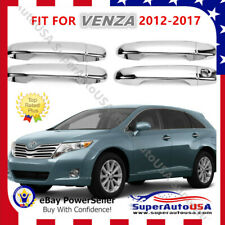 Door Handle Cover Fit For Toyota Venza 2009-2012 mirror Chrome Molding ABS Trim