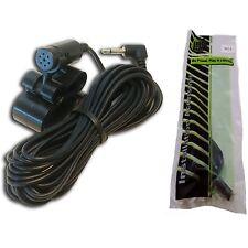 Microphone for Pioneer DEHX3900BT AVH4200NEX AVHX8800BT AVIC5200NEX AVIC6200NEX