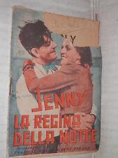 JENNY LA REGINA DELLA NOTTE Francoise Rosay e Albert Prejean Italfilm 1937 libro