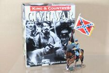 KING & COUNTRY CW004 AMERICAN CIVIL WAR MOUNTED CONFEDERATE STANARD BEARER nu