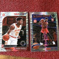 2019-20 NBA Hoops Premium Stock DEANDRE HUNTER Prizm Pulsar Rookie Lot RC HAWKS