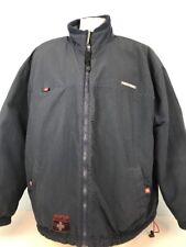 Disney Store Mickey Mouse Gear Fleece Jacket Coat XXL Reversible Blue Gray
