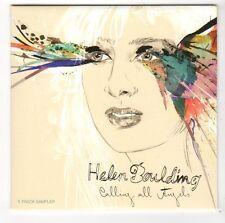 (FC367) Helen Boulding, Calling All Angels 5 track sampler - 2012 DJ CD