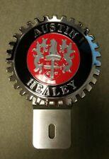 NEW Austin Healey Car License Plate Topper- Chromed Bress- Great Gift Item!