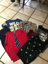 Lot of Boys 7 Ls Shirts Childrens Place-Baby Gap Size 5T Rug Rats