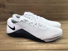 NEW! Nike Metcon 5 Black White Crossfit Training Shoes AQ1189-190 Men Sz 15