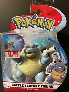 """Pokemon Battle Feature Blastoise Deluxe Action Figure 4.3"""""""