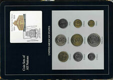Coin Sets of All Nations Mexico 1987-1990 UNC 100,500,5000 Peso 1988 1000 P 1989