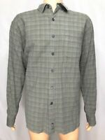 5118 POLO SPORT RALPH LAUREN Mens XLarge Button Up Front Shirt Long Sleeve Plaid