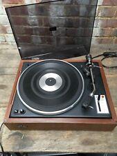 Vintage Sansui SR-1050C Belt Drive Manual Vinyl Record Deck Turntable Working