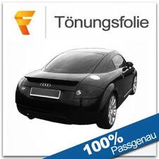 3D Tönungsfolie VORGEWÖLBT Audi TT 8N Coupé Bj 1998-2006