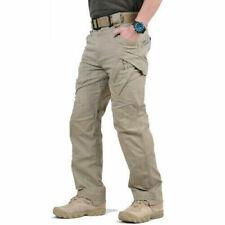 Soldier Tactical Waterproof Trousers Men Cargo Pants Combat Hiking Outdoor r