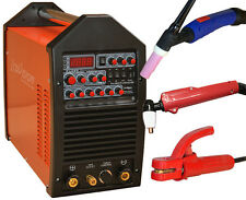 Pro Multi-226 AC/DC Schweissgerät WIG TIG Puls + E-Hand + Plasma 220A IGBT 230V