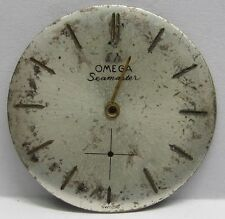 "Antique Omega Auto Seamaster "" White Satin"" Dial 30.25 mm in Size."