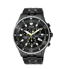 Citizen Men's BL5295-55E Eco-Drive Perpetual Calendar Chronograph Watch Black