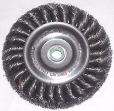 Advance 75006 Knot Wire Brush Wheel 3 7/8 x 3/8-1/2 Die Grinder USA 10K RPM