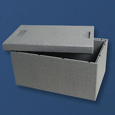 CLIMAPOR® Thermobox 35l Styropor Kühlbox Kiste Box Essen Warmhaltebox E8246
