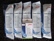 5 x JURA Claris White 60209 Filter + 6 x Reinigungstabs