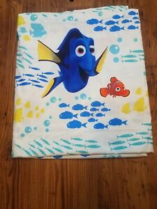 Disney Pixar Finding Dory Nemo  Full Size Flat Sheet-Crafting Material