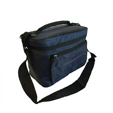 "Insulated Thermos Cooler Lunch Bag Portable Travel Lunch Box Thermal Tote 9.5""H"