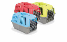 PET CARRIER PUPPY, DOG,CAT , KITTEN & RABBIT TRAVEL TRANSPORT CAGES MPS
