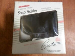 Gatco Elite Collection Soap Holder Solid Brass-Chrome Finish - 5015