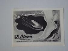 advertising Pubblicità 1949 CALZATURIFICIO DIANA SCARPE