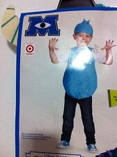 Monsters Inc Blue Sully Costume Dress Up Toddler Size 3T 4T New!
