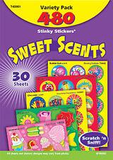 480 DOLCE graffio di profumi e sniffare STINKY ADESIVI tendenza varietà Pack