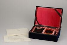Canon IXUS 60th ANNIVERSARY ORO Edition APS mirino fotocamera con custodia #000296 *