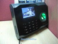 New Zksoftware Fingerprint+PIN Attendance Time Clock+ Wifi Function +Tcp/ip