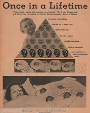 """1936 Dionne Quints - """"Once In A Lifetime"""" + Genealogy"""