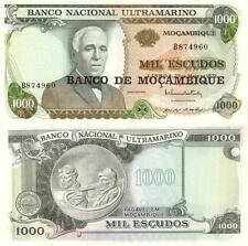 Mozambique 1000 Escudos 1976 Pick 119 UNC