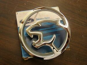 NOS OEM Ford 1987 1988 Mercury Cougar Grille Ornament Emblem Logo Badge Trim XR7