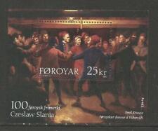 Faroe Is 2003 Art/Czeslaw Slania ss--Attractive Topical (438) MNH
