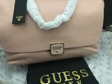 Guess LUXE Vicky Leather Handbag, PALE PINK,brand NEW ORIGINAL