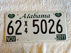 Alabama Truck 62X45026 Genuine Pre-Owned USA American License Plate