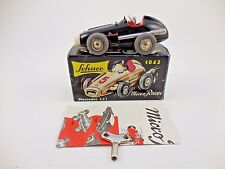 Schuco Micro Racer 1043 Mercedes Black Wind Up Car New in Box