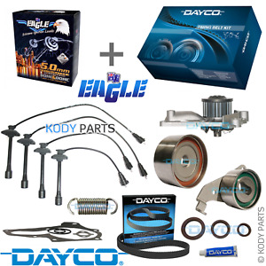 TIMING BELT KIT, WATER PUMP & IGNITION LEADS - for Toyota Camry 2.2L 5SFE SXV20R