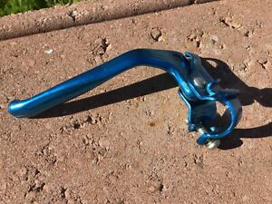 Shimano BMX Pre-bent LH Blue NOS* Brake Lever, Old School BMX Mongoose, Quad, PK