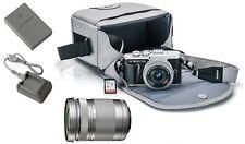 Olympus PEN E-PL9 Black Digital Camera + 14-42mm EZ + 40-150mm f/4-5.6 R Lenses